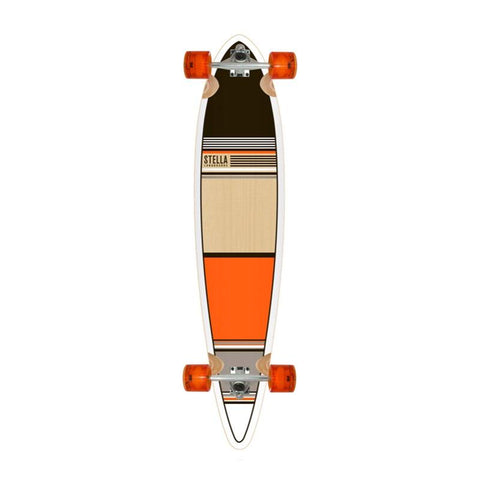 Stella Longboards Orange Classic Longboard