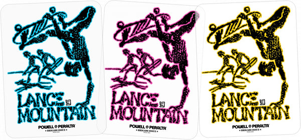 Bones Brigade® Mountain Future Primitive Sticker