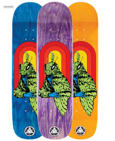 WELCOME SKATEBOARDS MOTHMAN on BUNYIP