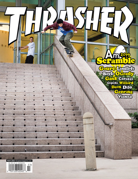 THRASHER March 2020 Issue #476