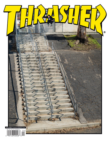 THRASHER April 2020 Issue #477