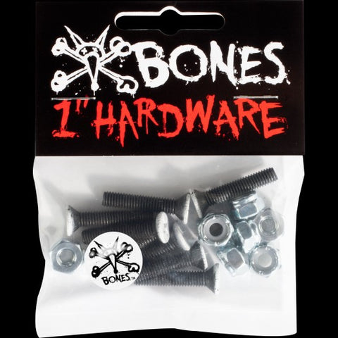 "Bones Wheels 1"" Hardware"