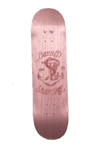 BANNED Snake 25 Years Anniversary Etched 1/50 Collectible