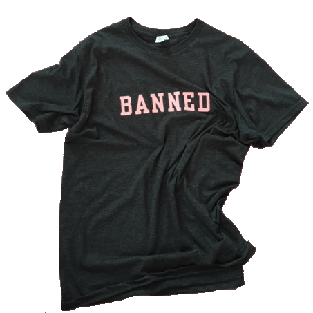 BANNED COLLEGE Felt S/S T-Shirt
