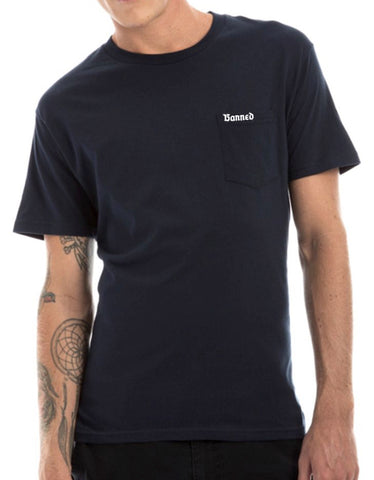 BANNED New Small Metal Pocket T-Shirt SERIES