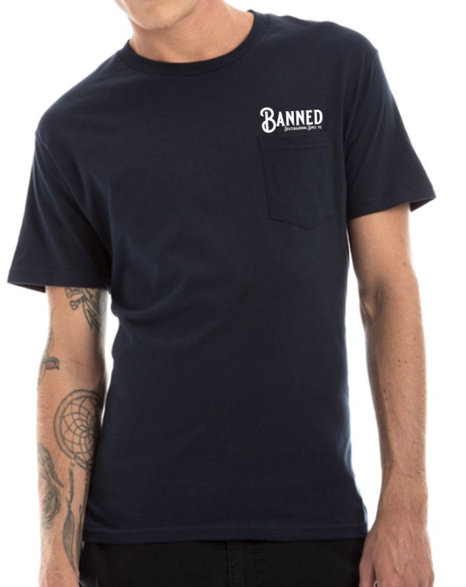 BANNED Fabrication S/S  Pocket T-Shirt Series