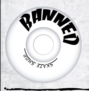 Banned Block Skateboard wheels 99A