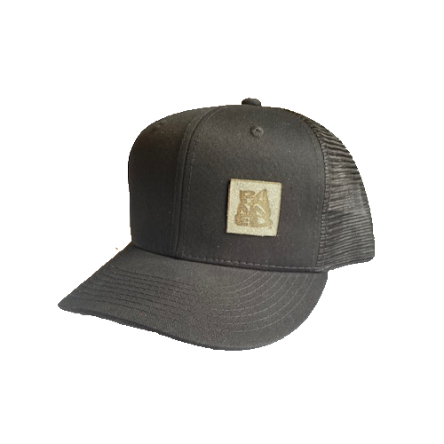 BANNED® Midfielder Mesh Curved Bill Black