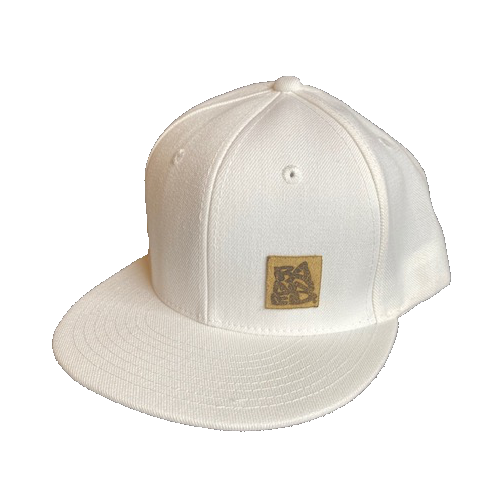BANNED® The Forward Flat Bill Snapback White
