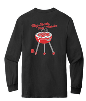 BANNED Big Steak, Big Mistake L/S T-Shirt