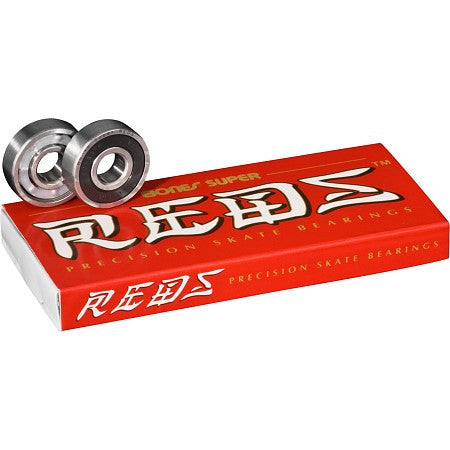 Bones Super Reds Bearings (8 Pk)