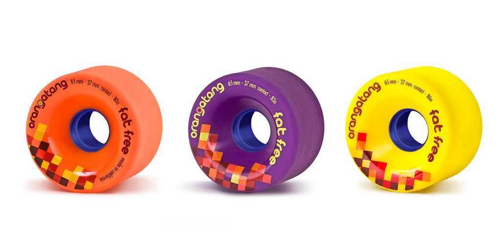 Orangatang Fat Free Wheels (Set of 4)