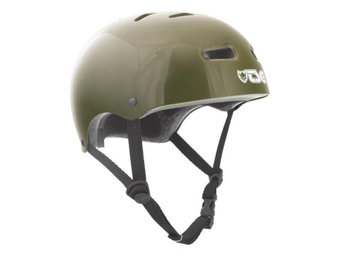TSG Evolution Injected Olive Green Helmet