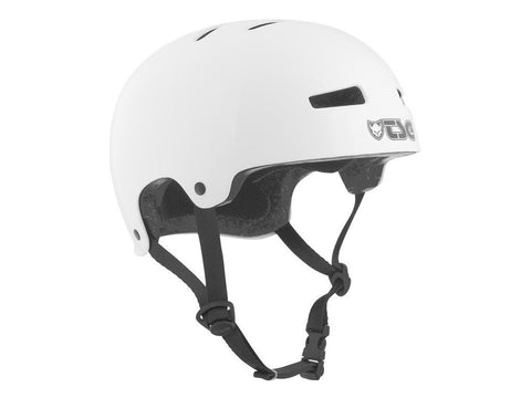 TSG Evolution Injected Satin White Helmet