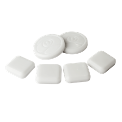 Sector Nine 6 PUCK PACK - WHITE