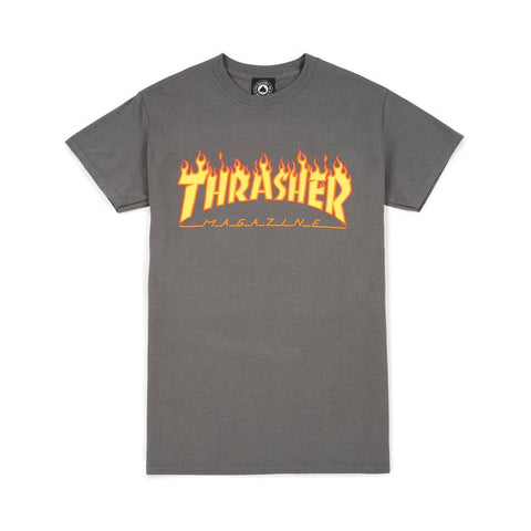 Thrasher Flame Logo Shirt