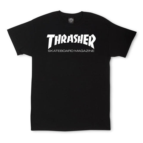 Thrasher Magazine Logo Black T-Shirt