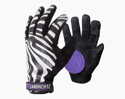 Landyachtz Zebra Slide Gloves