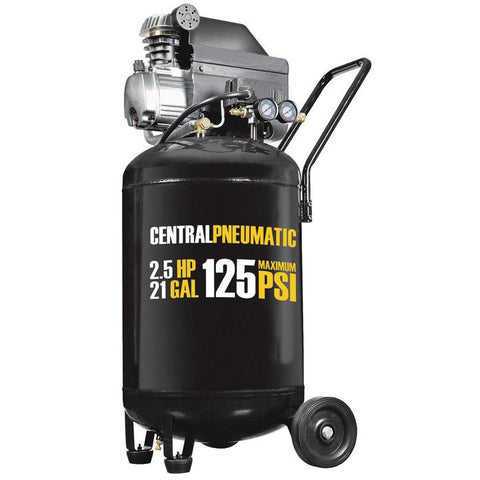 Compresseur 3 Gallons 100 PSI Central Pneumatic