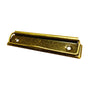 Low Profile Clipboard Clips, Antique Bronze Gold 120mm