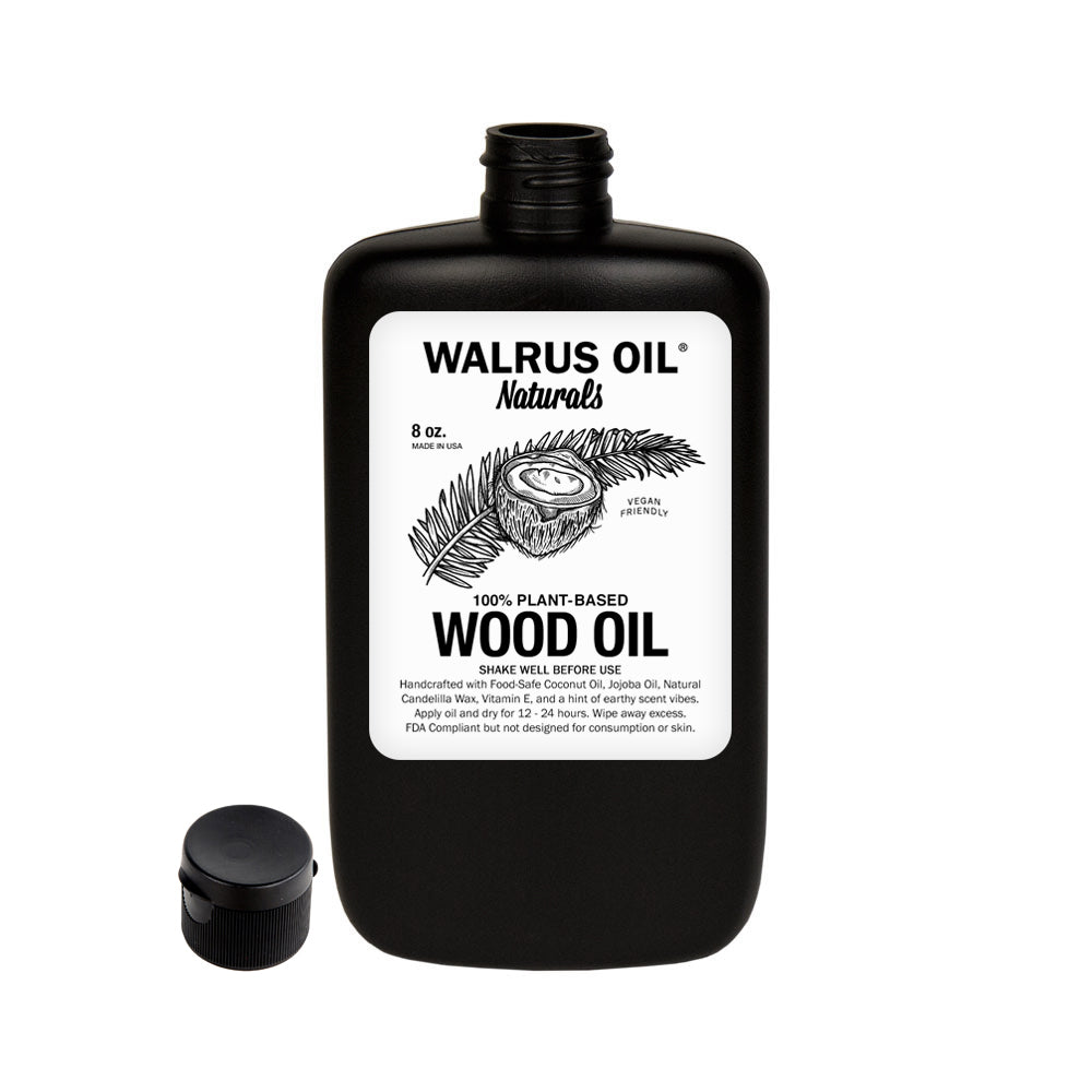 Vegan Wood Oil, 8oz Bottle