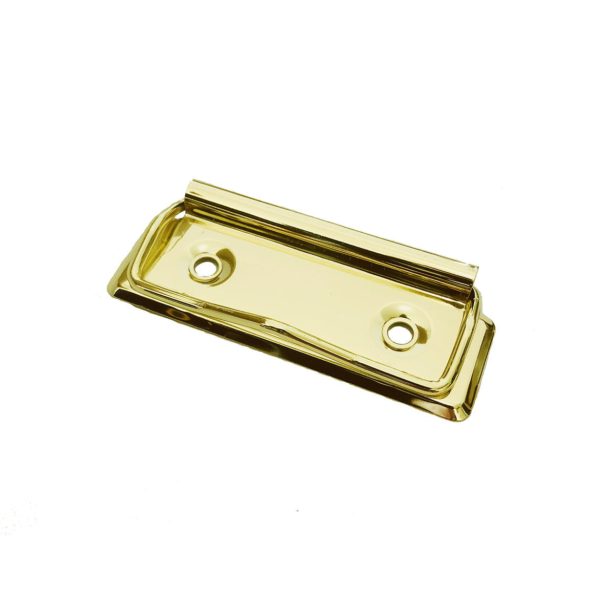 Low Profile Clipboard Clips, Shiny Gold 70mm