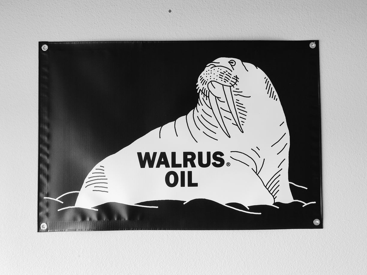 Walrus Oil Shop Banner