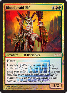 Bloodbraid Elf (FNM Foil)