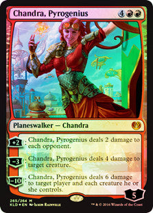 Chandra, Pyrogenius (Planeswalker Deck)