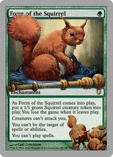 Form of the Squirrel