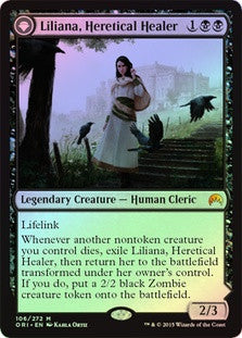 Liliana, Heretical Healer | Liliana, Defiant Necromancer