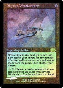Skyship Weatherlight (Alternate Art)