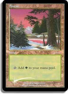 Forest (Arena 2001 Foil - Ice Age)