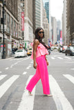 Go Pink Wide Leg Pants