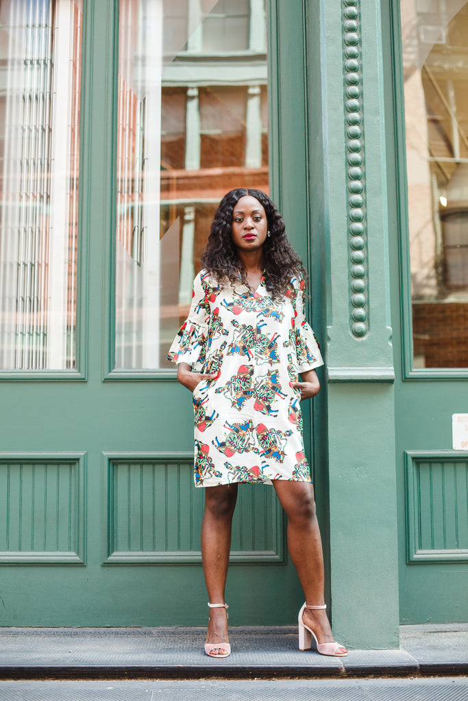 Temi Shift Dress