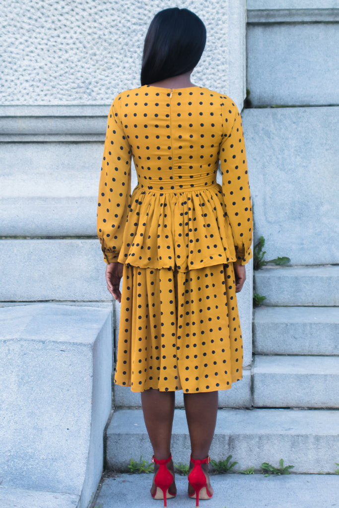 Polka Dot and Slay Dress