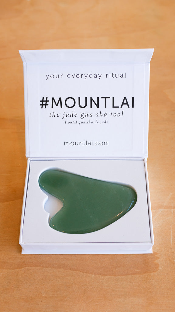 Jade Gua Sha Facial Lifting Tool