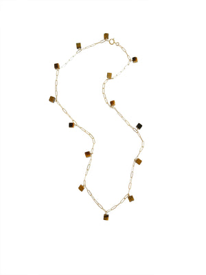 Vista Necklace- Tiger's Eye