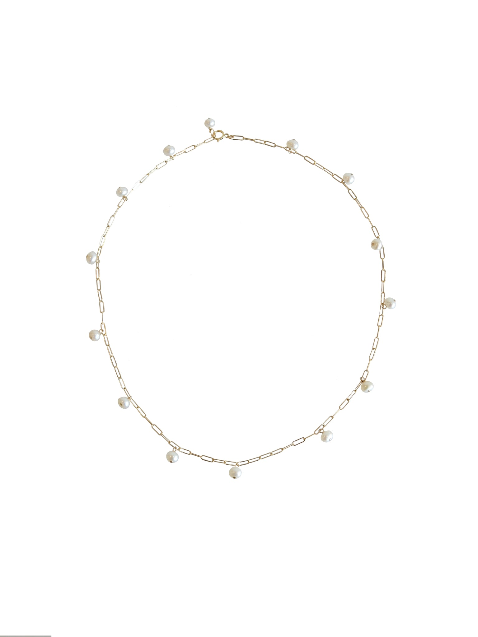 Vista Necklace- Freshwater Pearls
