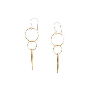 Bubble Earrings- Spike