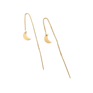 Constellation Earrings-Moon