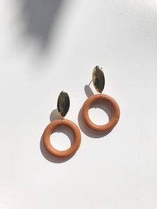 Chestnut Earrings