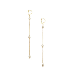 Rio Earrings- Pearls