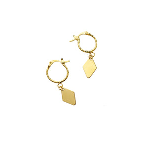 Spell Earrings- Diamond