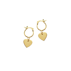 Spell Earrings- Heart