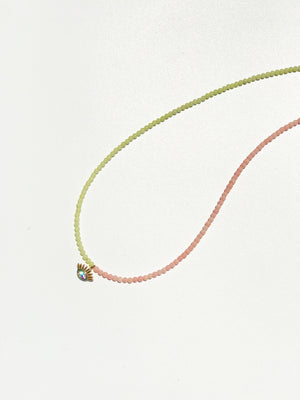 Eye-C-U Necklace- Duo Tone
