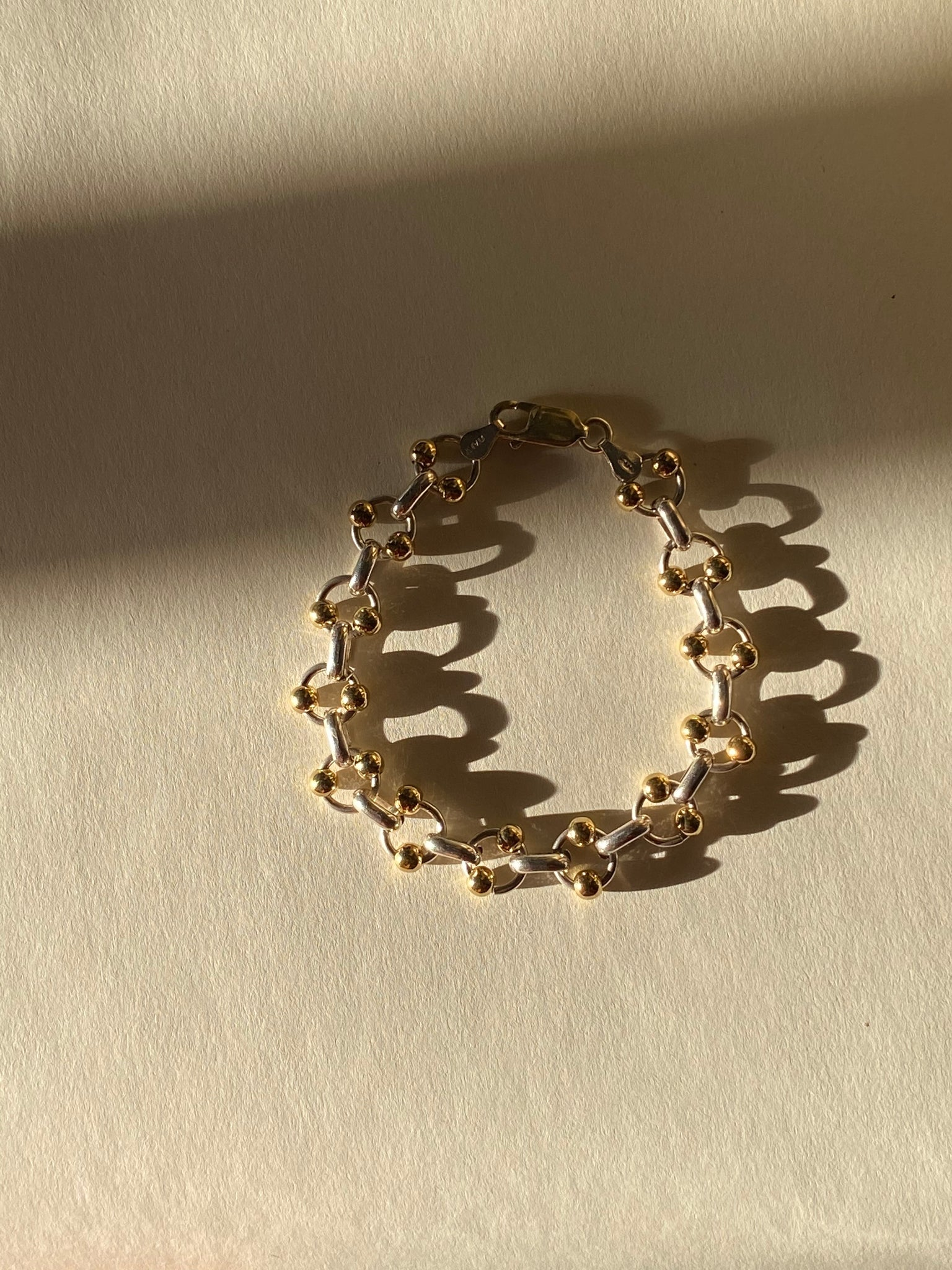 Ball and Chain Bracelet