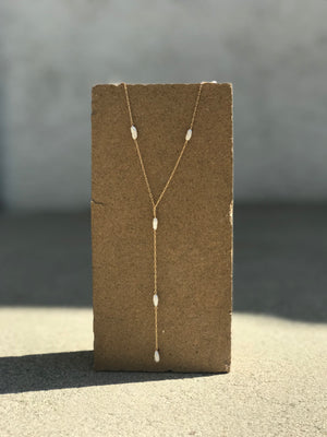 Seed Y-Necklace