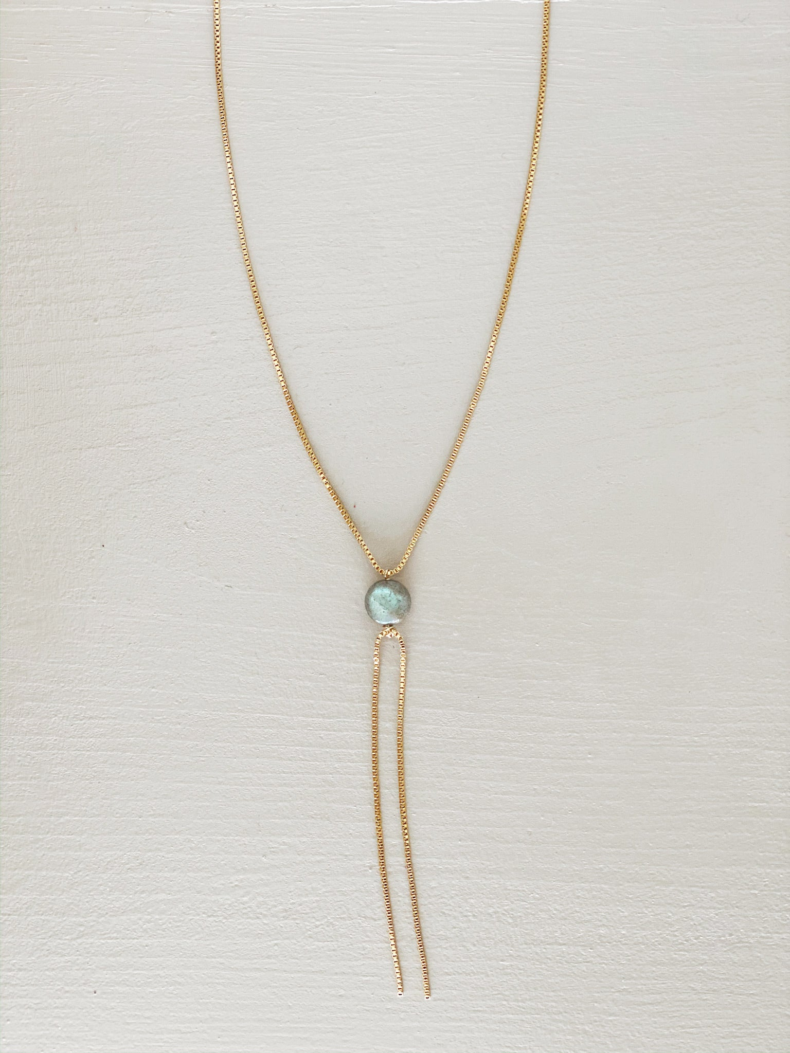 Balanced Rock Necklace- Labradorite