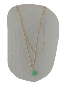 Grace Necklace - Chrysoprase